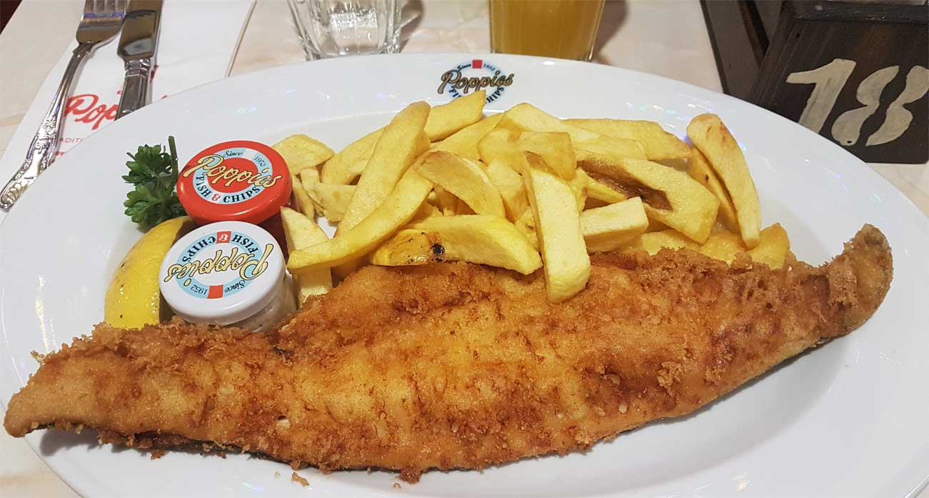 Comer fish & chips